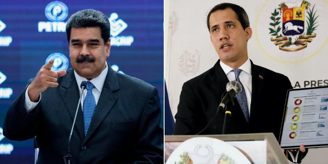 Maduro y Guaidó oro COVID-19