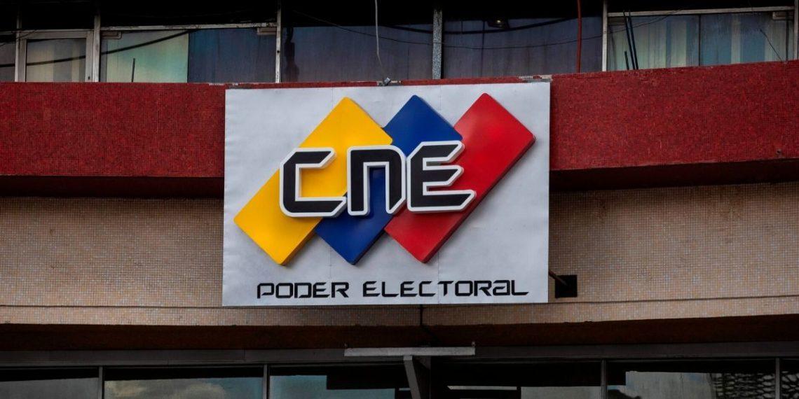 CNE registro oposición venezolana farsa