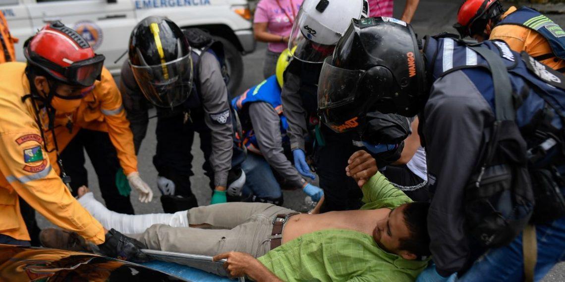 Paramédicos motorizados Venezuela
