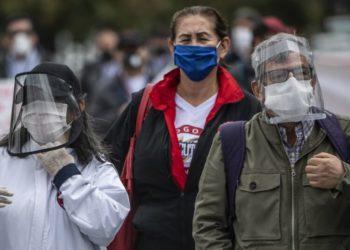 control del coronavirus en Bogotá