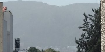 Polvo del Sahara en Bogotá