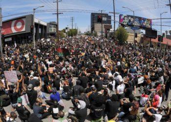 La muerte de George Floyd ha desatado una oleada de protestas en varias ciudades de EE.UU. Foto: AP