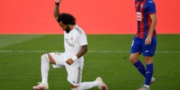 El conjunto blanco marcó tres goles. El último lo asentó el brasileño Marcelo