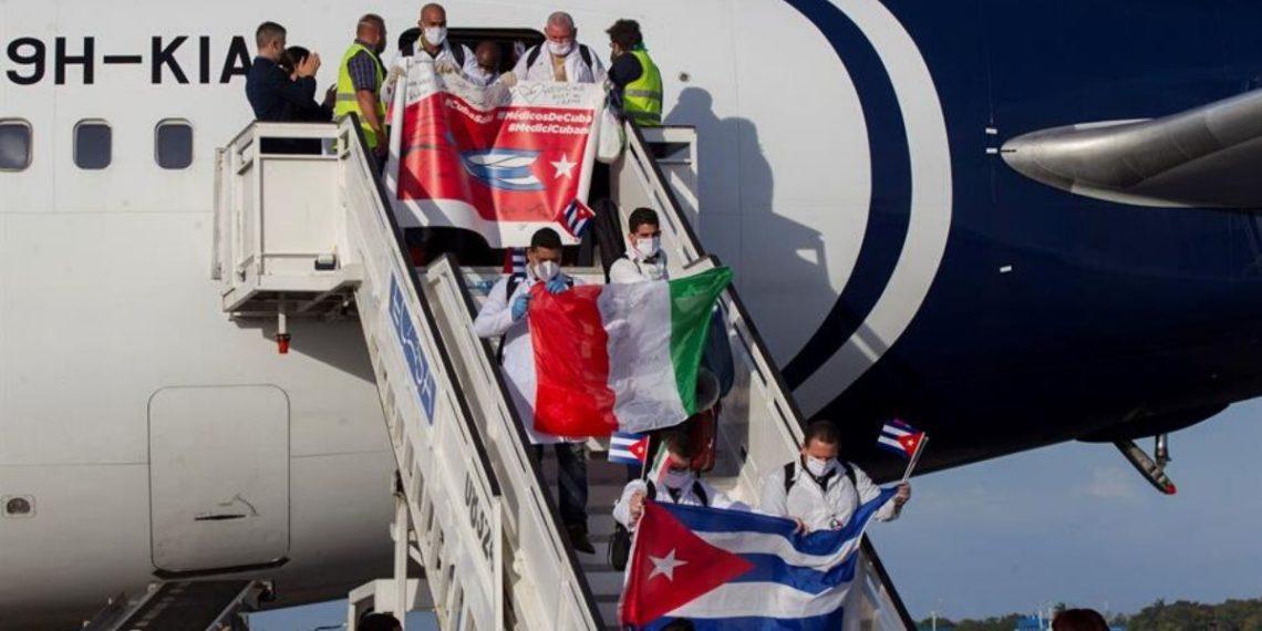 médicos cubanos Italia