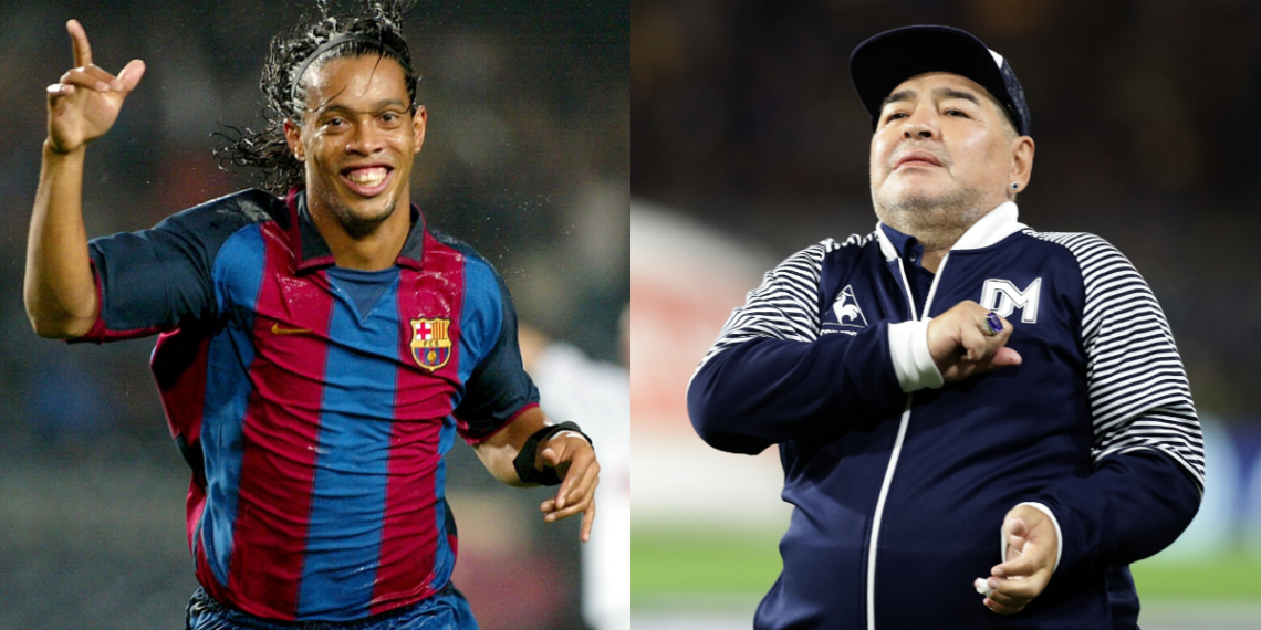 Ronaldinho y Maradona podrían coincidir