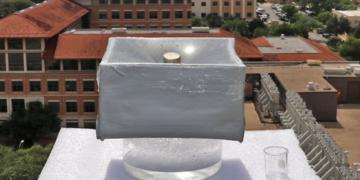 Nueva tecnología solar podría generar agua potable rápidamente