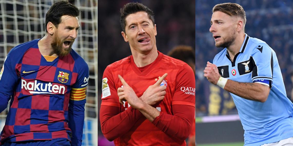 Listado de los mejores delanteros de la temporada