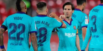 Victoria del Barcelona en el reinicio de la temporada