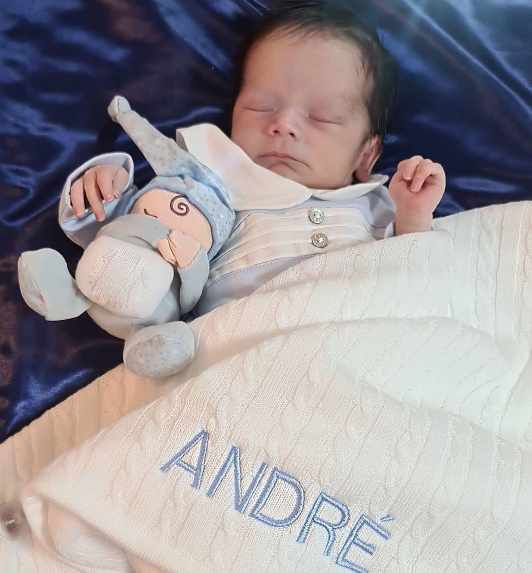 André, el hijo de Sherlyn
