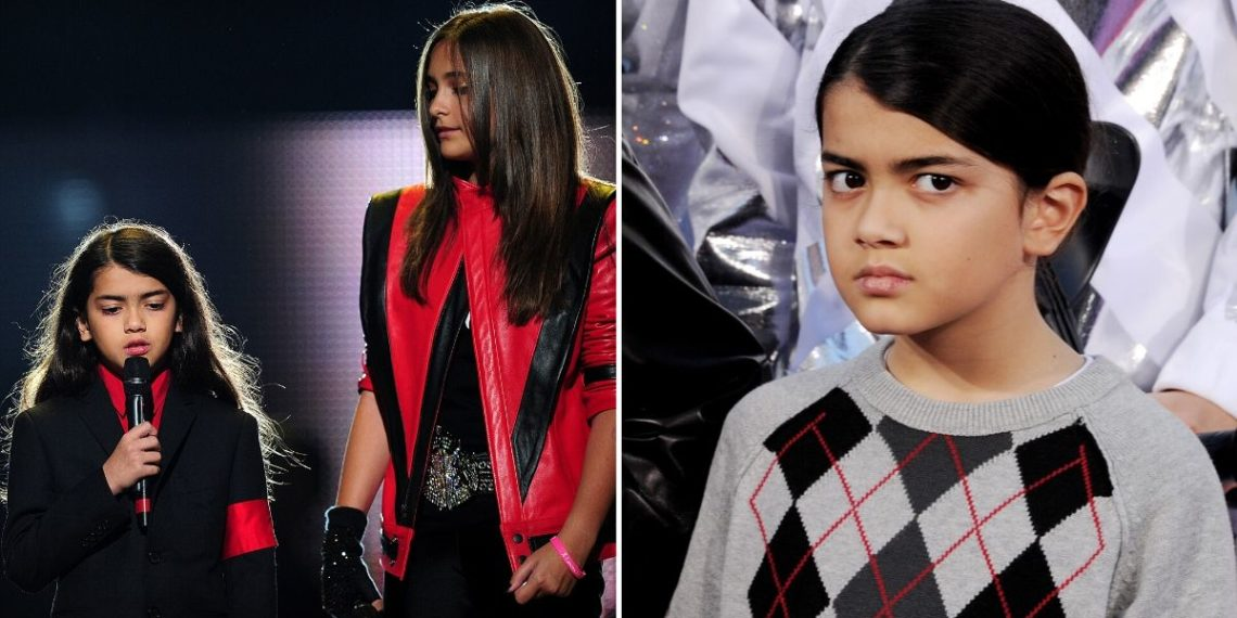 Hijo menor de Michael Jackson