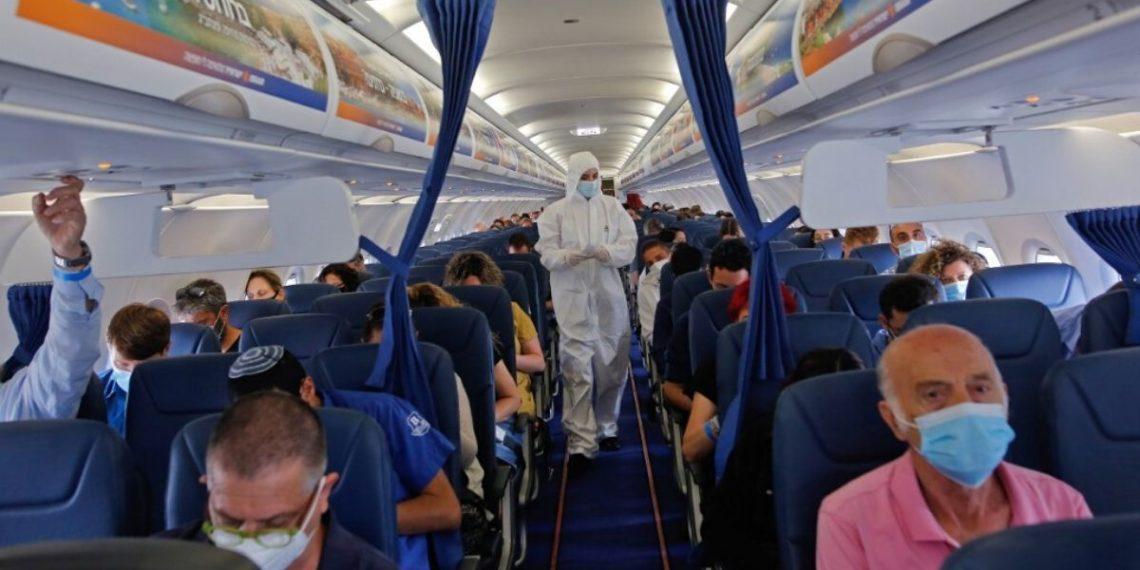 Coronavirus vuelo