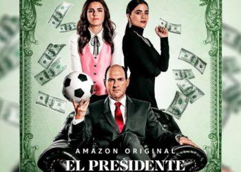 Imagen publicitaria de 'El Presidente'. Foto: Instagram/ primevideomx