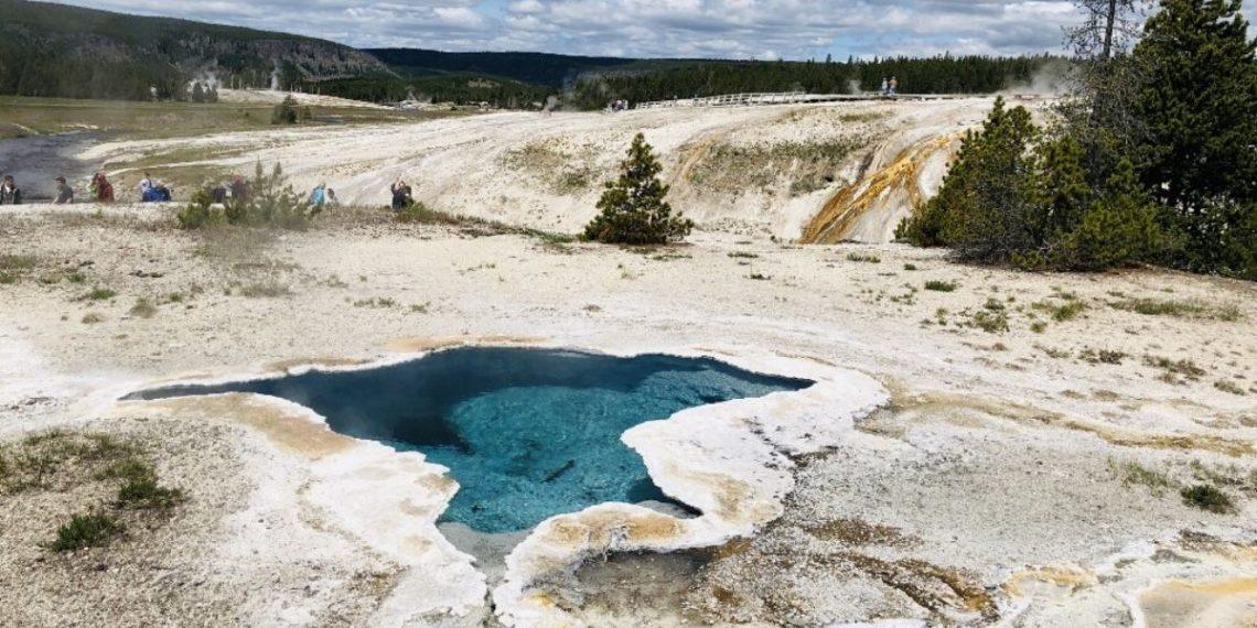 Erupción Yellowstone