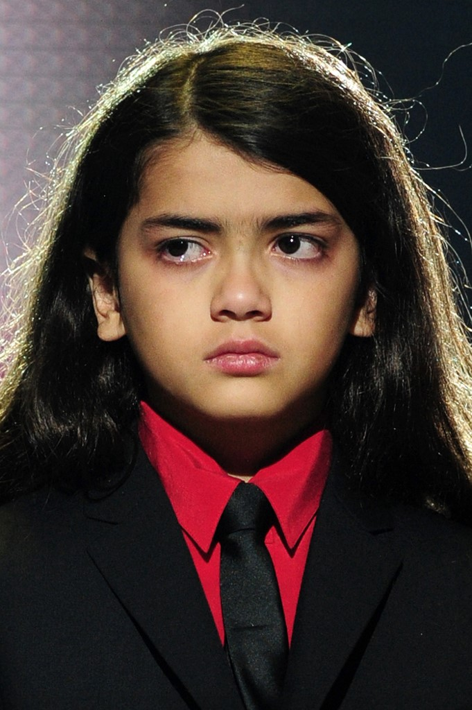 'Blanket', el hijo menor de Michael Jackson