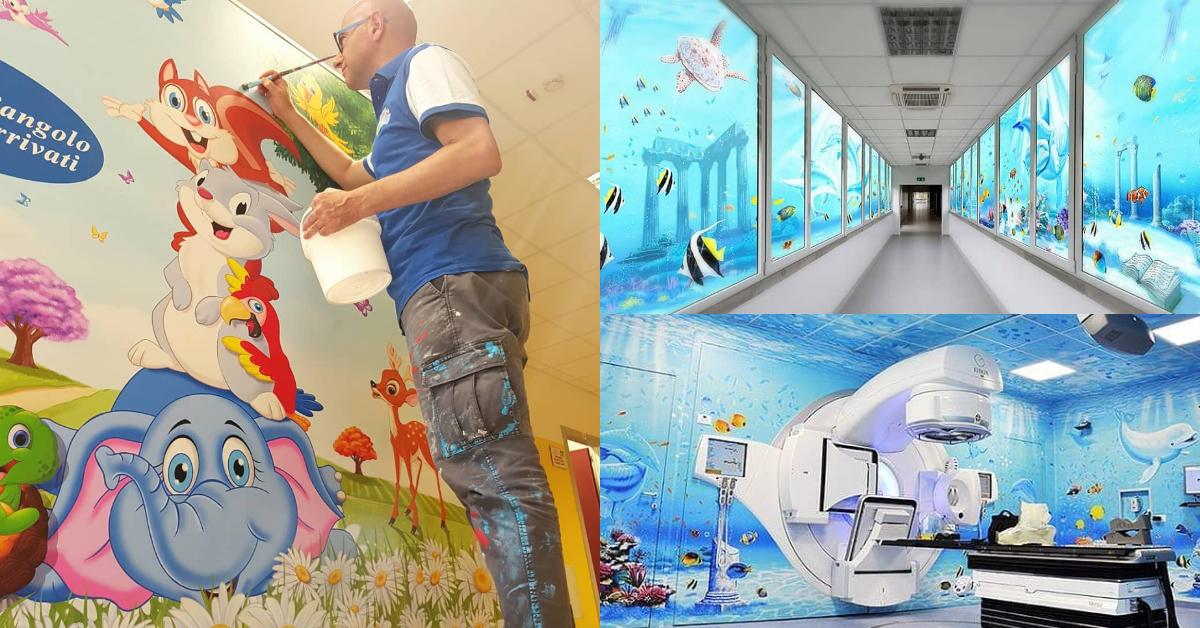 Hospitales pintados: un proyecto para disminuir el miedo de los ...