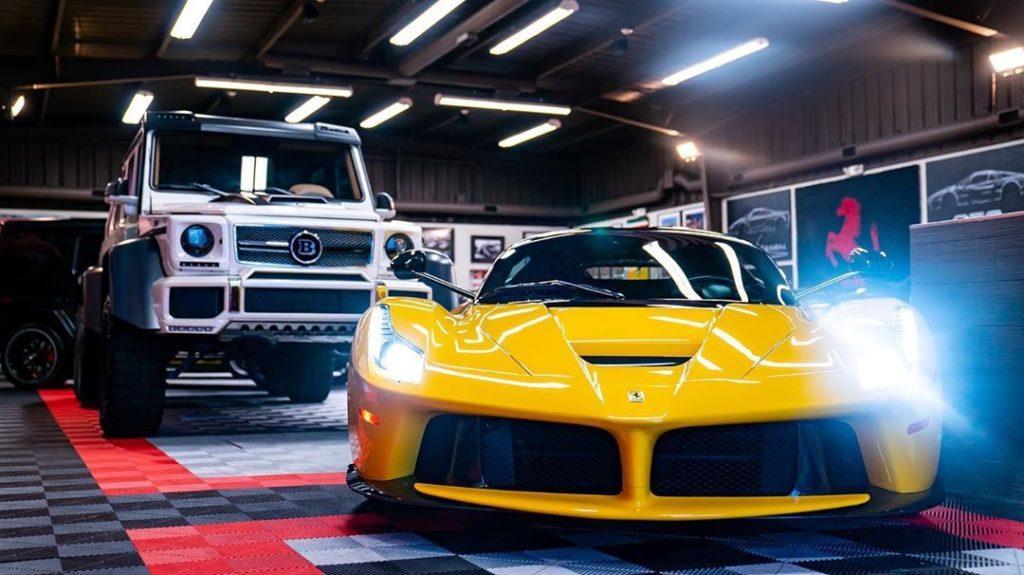 Asi Es El Nuevo Ferrari De J Balvin Avaluado En 3 5 Millones De Dolares
