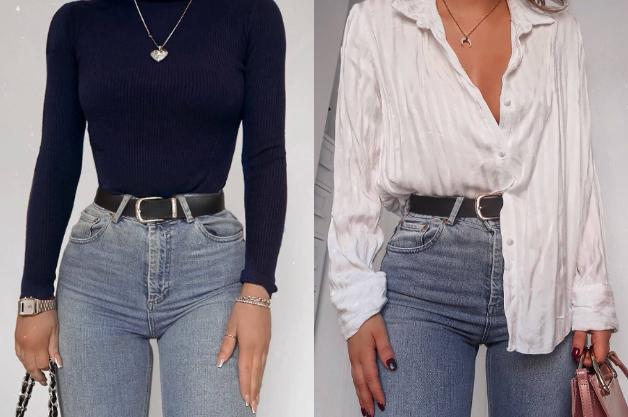 Quieres Lucir Un Fecto De Cintura Avispa Estos Jeans Son Los Ideales