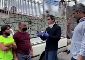 Juan Guaidó reapareció