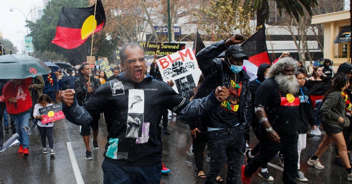 Manifestaciones en Australia