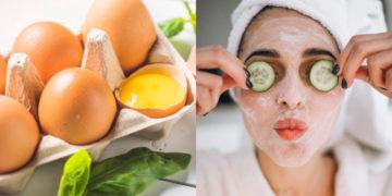 Mascarilla de huevo para una piel más saludable. Foto: Freepik