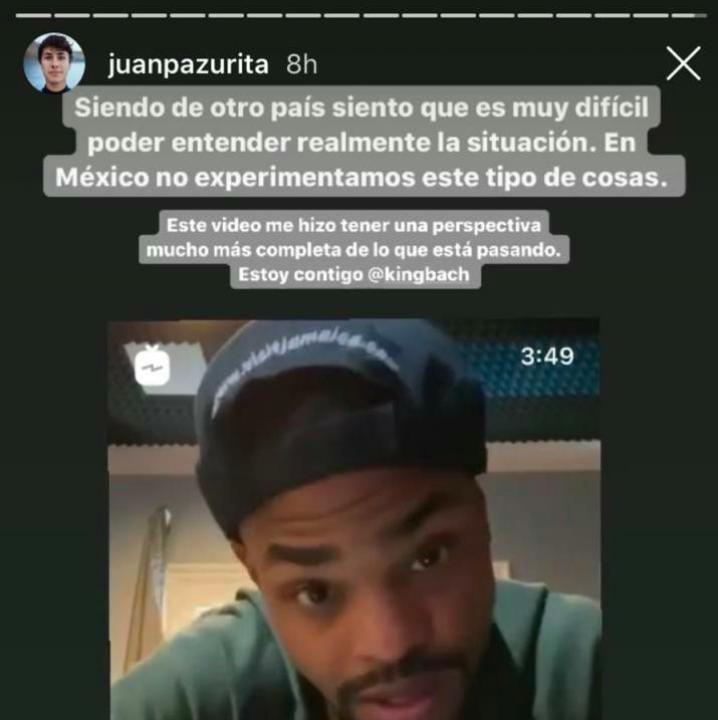 Mensaje Juanpa Zurita