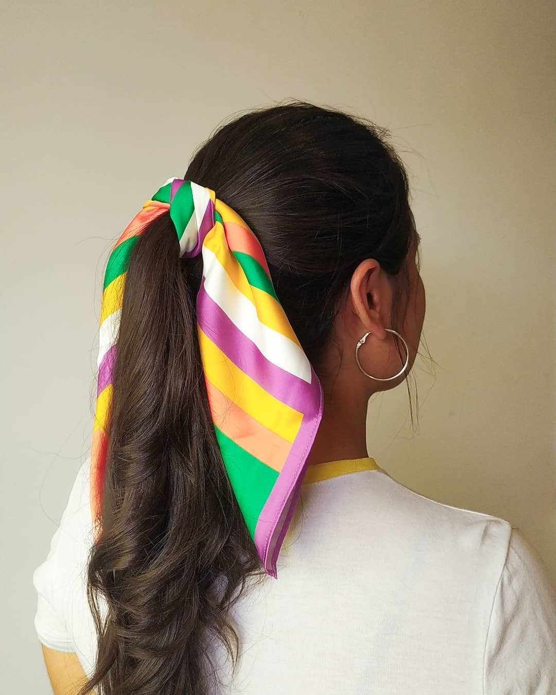 pañoletas para el cabello