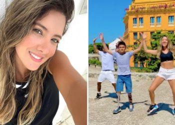 Daniella Álvarez video bailando