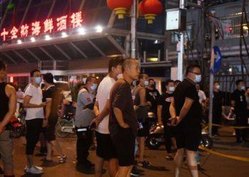 Confinamiento zona Pekín