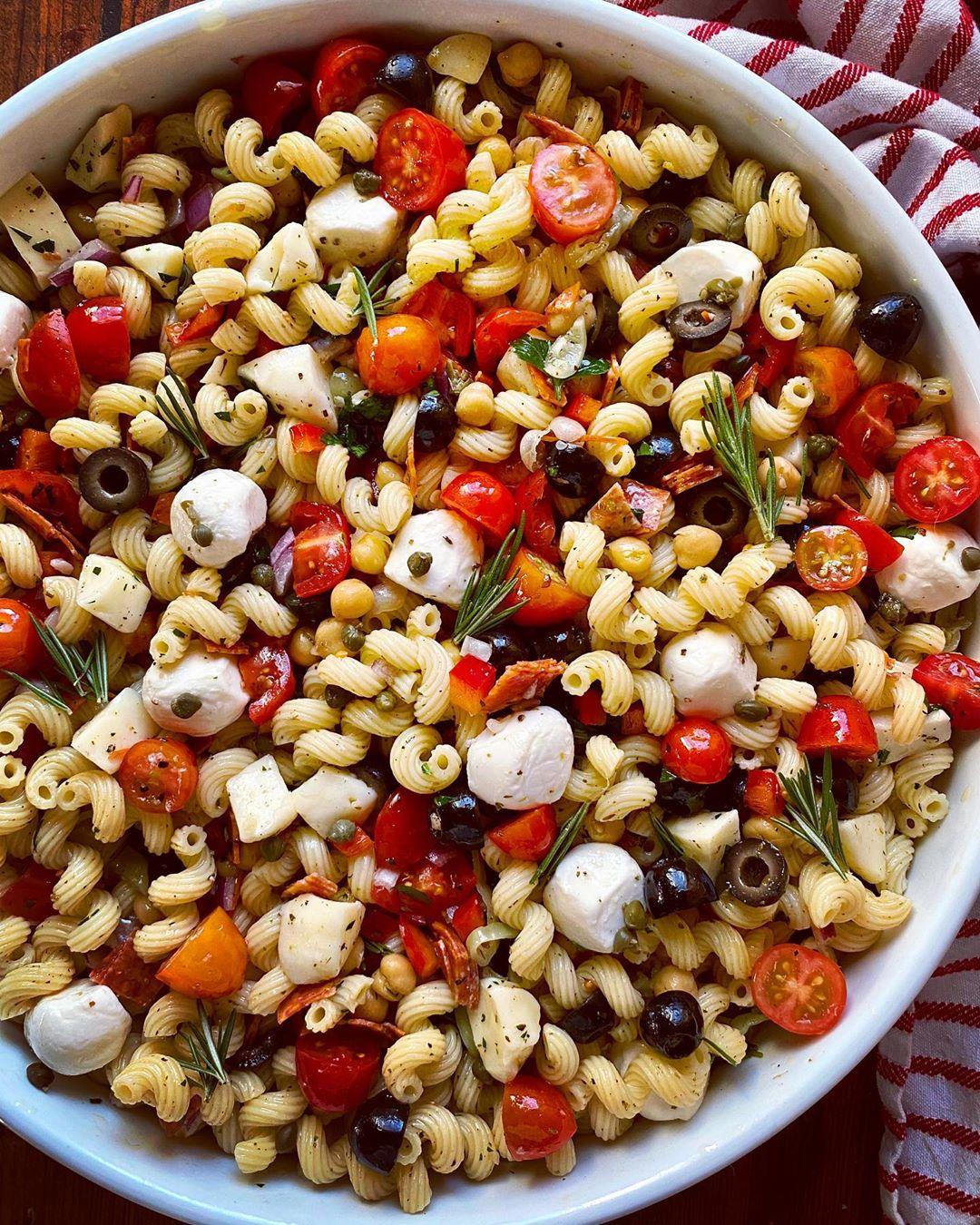 Ensalada de pasta a la italiana