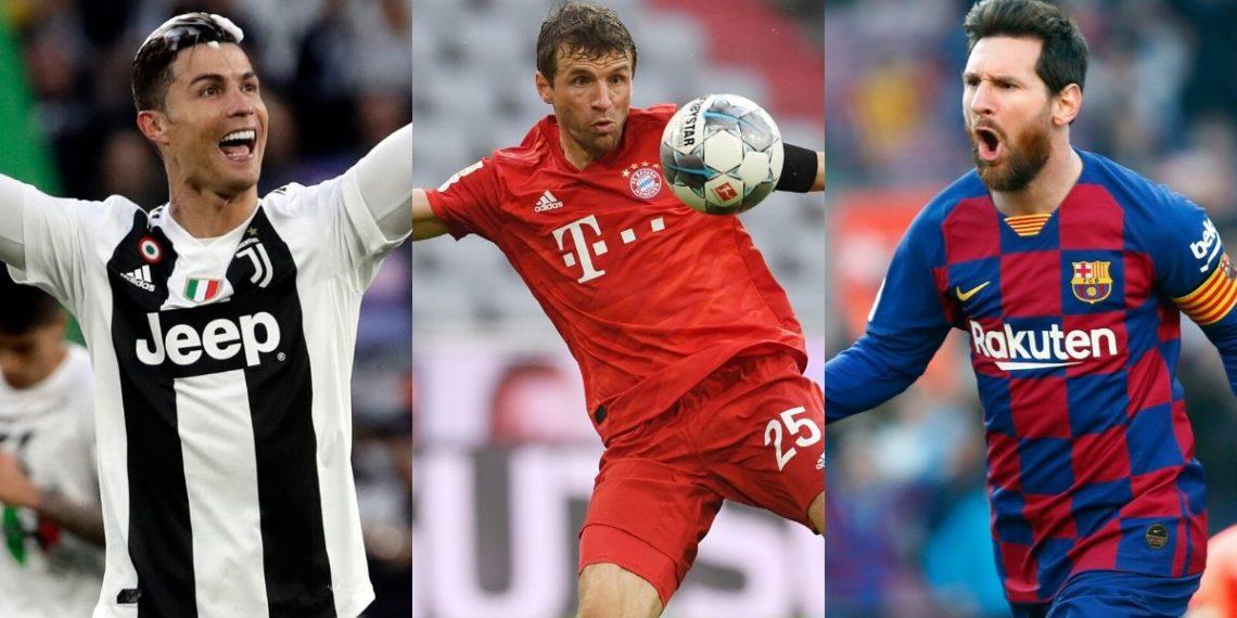Thomas Müller prefiere jugar con Cristiano Ronaldo que con Messi