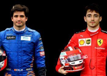 Sainz y Leclerc en Ferrari son comparados con Schumacher y Barrichello