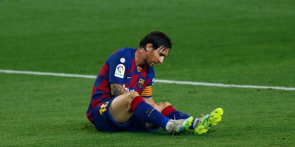 ¿Problemas en el Barcelona? Messi ignora conversación con Eder Sarabia