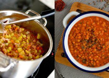 Hacer una receta de salsa boloñesa de lentejas / Créditos – Instagram: thefitbowl - Pixabay