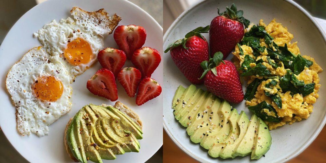 Desayunos con huevo, fitness y sanos