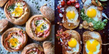 Desayunos saludables con huevo: son caseros, ricos y sanos