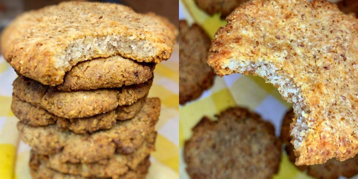 Receta de galletas de almendras con harina de almendras