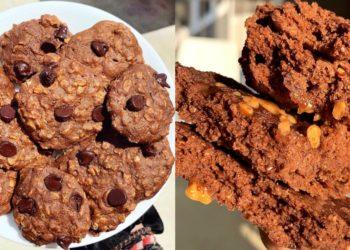 Receta de galletas de cacao fitness
