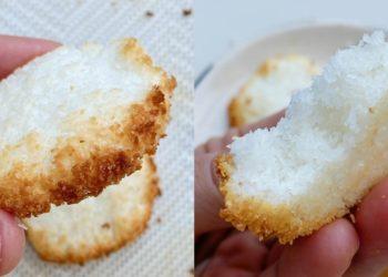 Receta de galletas de coco sin harina