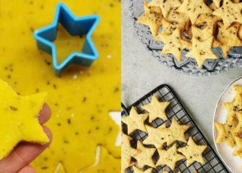 Receta de galletas saladas de queso y orégano