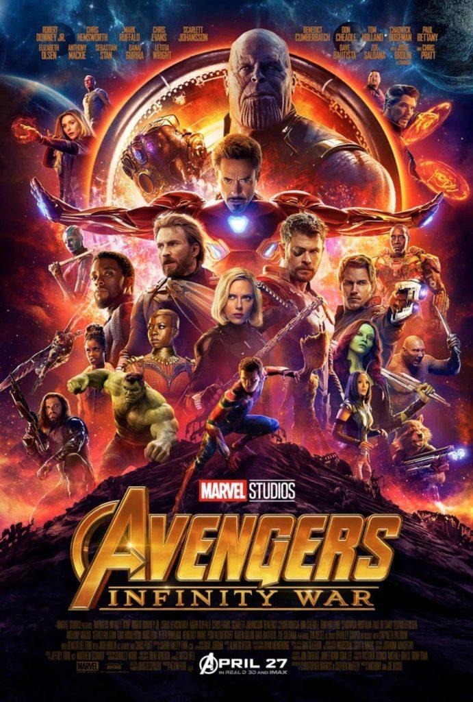 Póster oficial de 'Avengers: Infinity War'