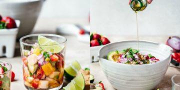 Receta de ceviche peruano y vegetariano