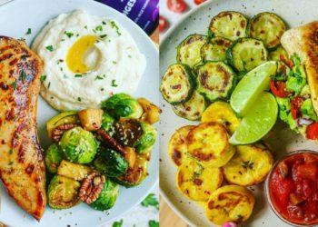 Comidas y recetas saludables con pollo y verduras