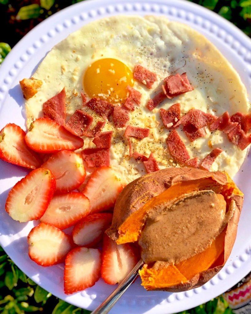 Huevo con batata