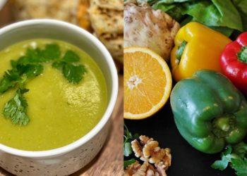 Salsa de pimiento y calabacín (zucchini)