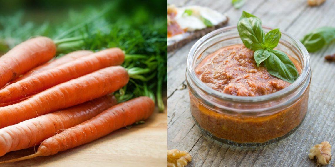 Aderezo o salsa de zanahoria