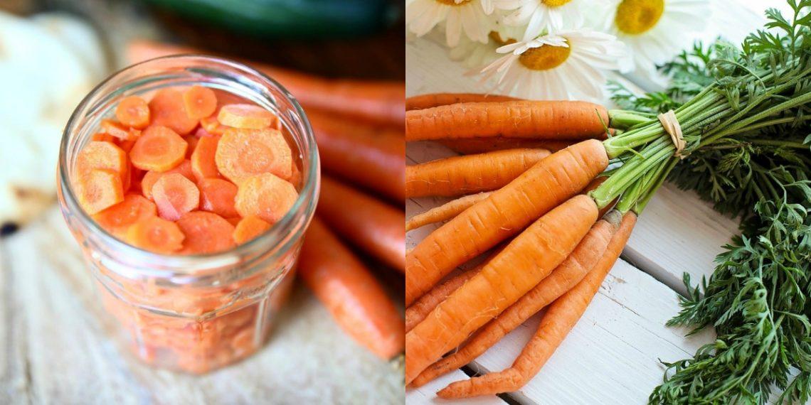 Hacer receta de zanahorias en vinagre