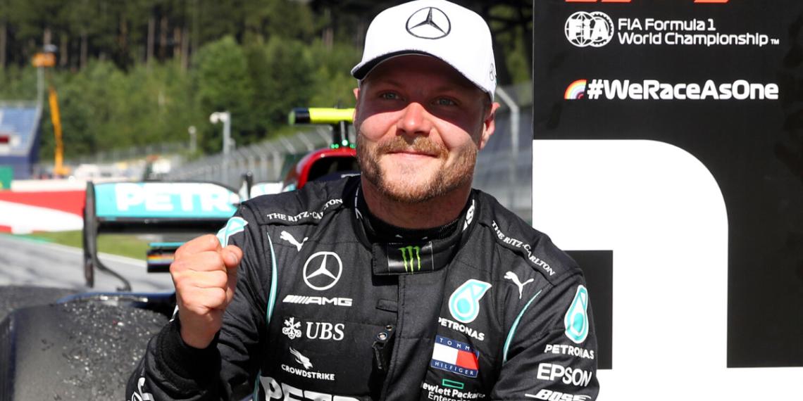 Bottas se lleva el GP de Austria