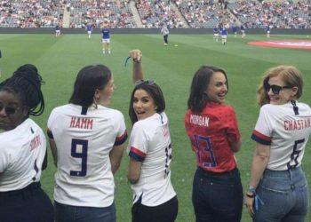 Natalie Portman equipo futbol femenino