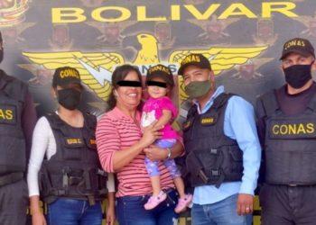 Niña cárcel Bolívar