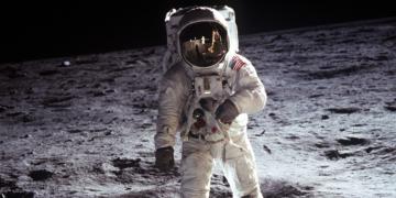 Las mejores imágenes de la llegada a la Luna hace 51 años